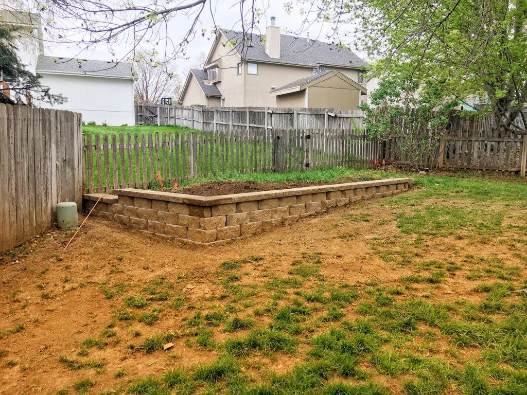 Retaining wall Papillion Nebraska