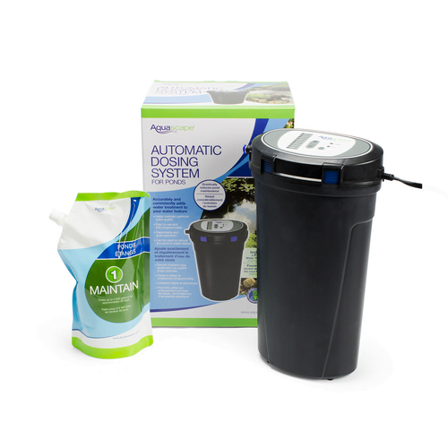 Automatic dosing system for pond health
